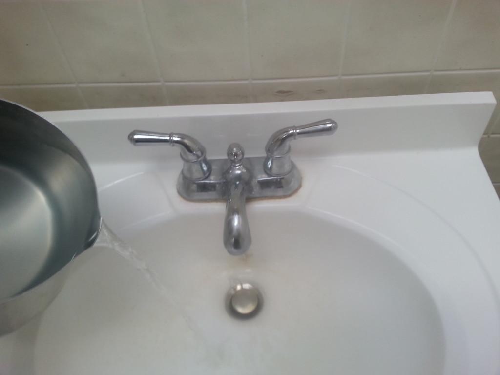 Boiling water + Pequa = CLOG???