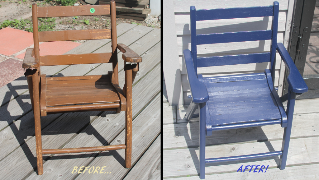 ChairDIY beforeafter